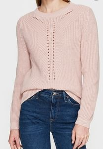 Mavi Crew Neck Pink Sweater in XS